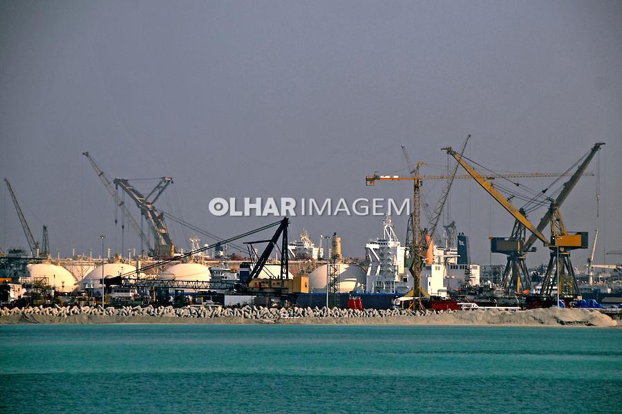 Porto na cidade de Dubai. Emirados Arabes Unidos. 2009. Foto de Thaïs Falcão.