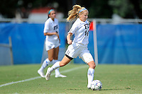 2 October 2011:  FIU's Nicole DiPerna (16) passes the ball in the first half as the FIU Golden Panthers defeated the University of South Alabama Jaguars, 2-0, at University Park Stadium in Miami, Florida.