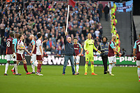 Pitch invaders  during West Ham United vs Burnley, Premier League Football at The London Stadium on 10th March 2018
