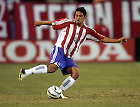 10 September 2005: Esteban Arias of the CD Chivas USA in action against the Earthquakes at Spartan Stadium in San Jose, California.    San Jose Earthquakes defeated CD Chivas USA, 3-0.
