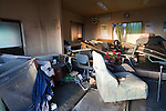 Mar. 13, 2011 - Ibaraki, Japan - The inside of an office is shown destroyed in Oarai two days after the 8.9 magnitude earthquake struck followed by a tsunami that hit the north-eastern region. The death toll is currently unknown with casualties that may run well into the thousands.