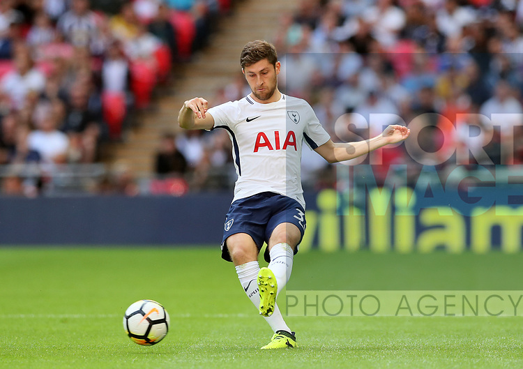Tottenham's Ben Davies in action during the pre season match at Wembley Stadium, London. Picture date 5th August 2017. Picture credit should read: David Klein/Sportimage