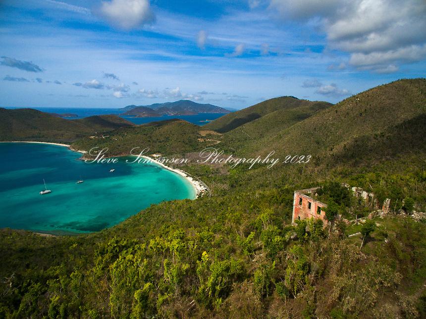 America Hill and Maho Bay<br /> St. John<br /> US Virgin Islands