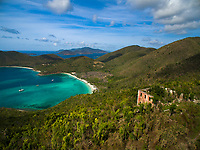 America Hill and Maho Bay<br />