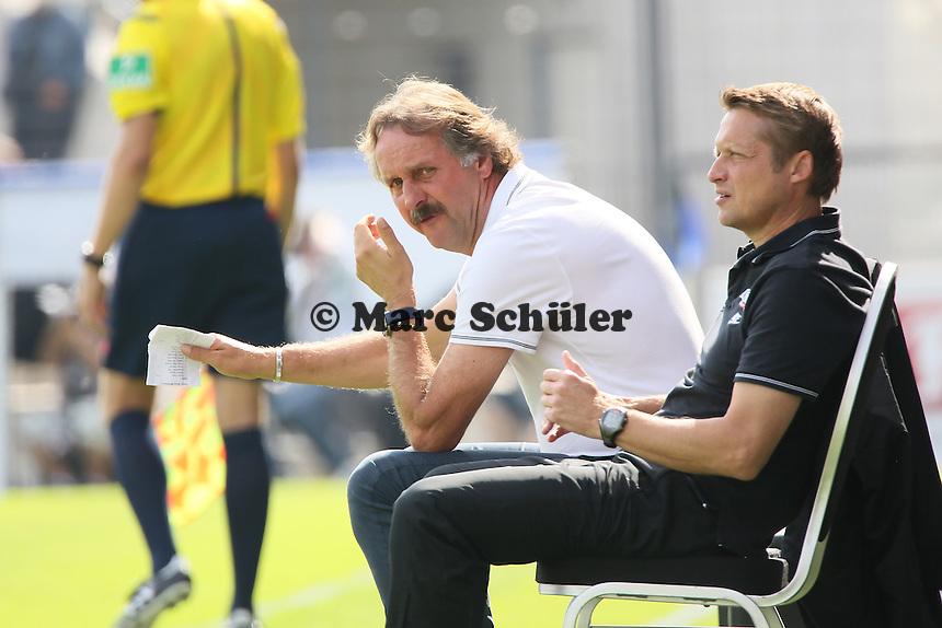 Trainer Peter Neururer (Bochum) - FSV Frankfurt vs. VfL Bochum, Frankfurter Volksbank Stadion