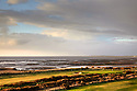 3rd hole overlooking the Solway Firth at Maryport GC, Maryport, Cumbria<br />