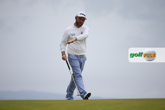 Andy Sullivan (ENG) during Round Three of the 2016 Aberdeen Asset Management Scottish Open, played at Castle Stuart Golf Club, Inverness, Scotland. 09/07/2016. Picture: David Lloyd | Golffile.<br /> <br /> All photos usage must carry mandatory copyright credit (&copy; Golffile | David Lloyd)