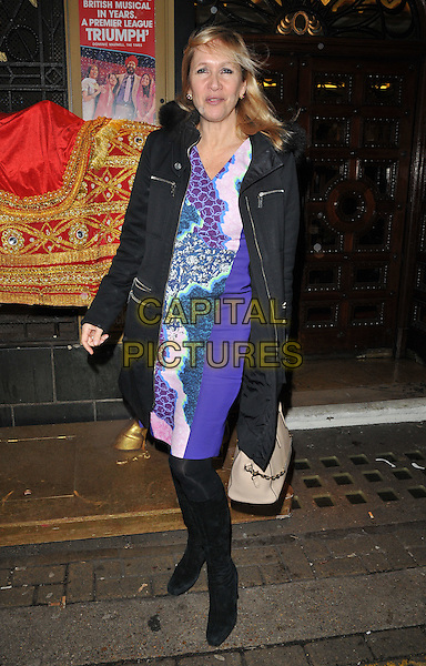 Tania Bryer attends the &quot;Bend It Like Beckham&quot; charity gala performance in aid of the Gynaecological Cancer Fund, Phoenix Theatre, Charing Cross Road, London, England, UK, on Friday 27 November 2015.<br /> CAP/CAN<br /> &copy;Can Nguyen/Capital Pictures