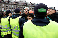 Demonstration held in Copenhangen on Dec 14. United Nations Climate Change Conference (COP15) was held at Bella Center in Copenhagen from the 7th to the 18th of December, 2009. A great deal of groups tried to voice their opinion and promote their cause in various ways. The conference and demonstrations was covered by thousands of photographers and journalists from all over the world...©Fredrik Naumann/Felix Features.