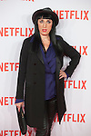 Rossy de Palma attends Netflix presentation in Madrid, Spain. October 20, 2015. (ALTERPHOTOS/Victor Blanco)