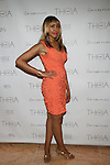 The Quest for It's Tia Walker Attends Theia Spring 2014 Presentation Held at the New York Palace, NY