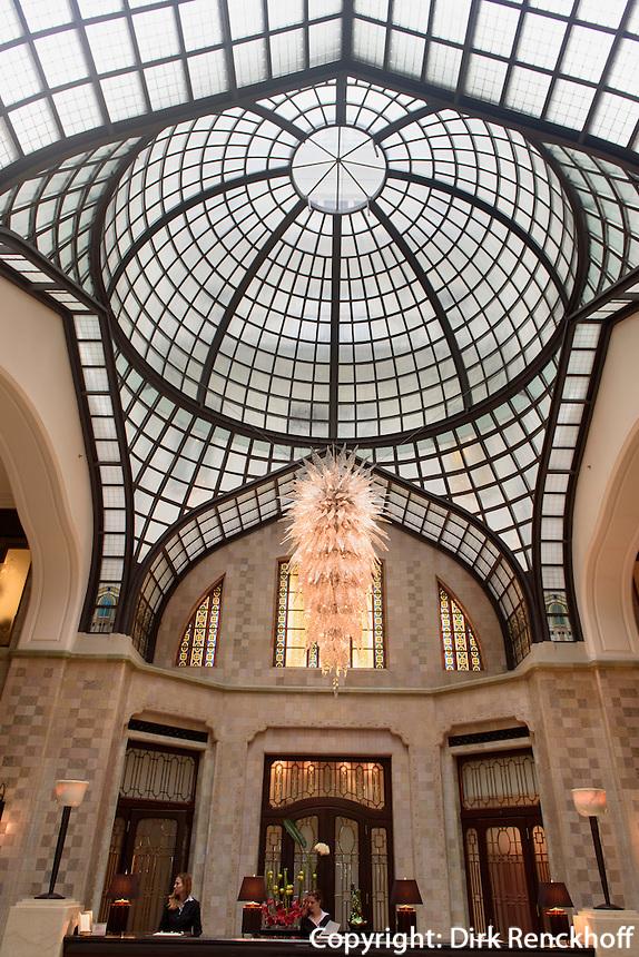 Lobby im Hotel Palais Gresham am Széchenyi tér 5-6, Budapest, Ungarn, UNESCO-Weltkulturerbe