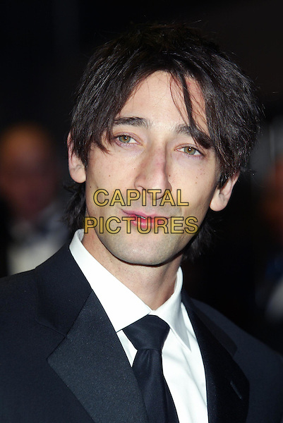 ADRIEN BRODY.arrivals at the BAFTA awards .Odeon cinema, Leicester Square.www.capitalpictures.com.sales@capitalpictures.com.© Capital Pictures