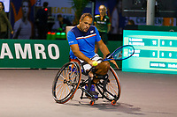 Rotterdam, The Netherlands, 9 Februari 2020, ABNAMRO World Tennis Tournament, Ahoy, Wheelchair: Tom Egberink (NED).<br /> Photo: www.tennisimages.com