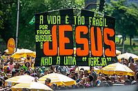 SÃO PAULO, SP, 24.02.2019: BLOCO MONOBLOCO EM SÃO PAULO -SP- Monobloco o Bloco de Carnaval do Rio de Janeiro, agita os foliões na região do Obelisco do Parque do Ibirapuera, na Zona Sul da Capital Paulista  neste domingo (24). (Foto: Marivaldo Oliveira /Código19)