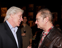 Montreal (Qc) CANADA, November 1st 2007-<br /> Dennis Trudeau (L), Bill Brownstein (R)<br /> at the CINEMANIA 2007 film festival<br /> - North American premiere of tCEUX QUI RESTENT<br /> <br /> photo : Pierre Roussel (c)  Images Distribution