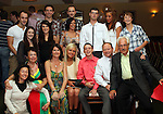 David McCluskey with family at his 21st in The Star and Crescent...Picture Jenny Matthews/Newsfile.ie