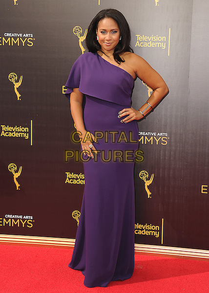LOS ANGELES, CA - SEPTEMBER 11: Tracie Thoms at the 2016 Creative Arts Emmys at the Microsoft Theater on September 11, 2016 in Los Angeles, California. <br /> CAP/MPI99<br /> &copy;MPI99/Capital Pictures