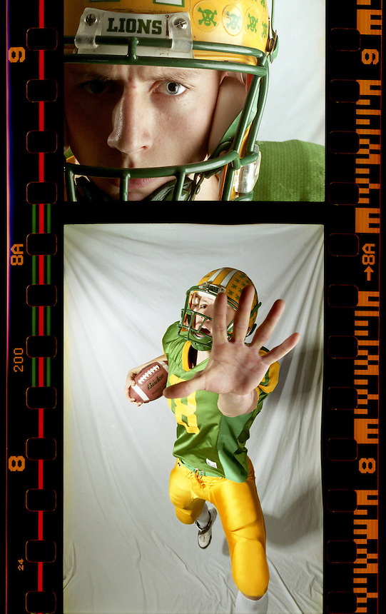 Chris Bolt, a Lynden high senior, has been named All-Whatcom County Football player of the Year for 2006. Bolt led his team to a Class 2A state championship this year, while breaking school records over the season by completing 226 passes for 2,789 yards and 32 touchdowns and rushing 710 yards for 10 touchdowns. He is also one of the state's top basketball players, and has had offers from universities to play either sport. Bolt said he will likely focus on football.