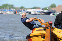 SKUTSJESILEN: GROU: SKS skûtsjesilen, Friese Sporten, 24-07-2010, Fryslân, skûtsje Heerenveen (Gerben van Manen), schipper Pieter Brouwer, ©foto Martin de Jong