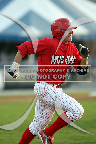June 25th 2008:  Infielder Colt Sedbrook (2) of the Batavia Muckdogs, Class-A affiliate of the St. Louis Cardinals, during a game at Dwyer Stadium in Batavia, NY.  Photo by:  Mike Janes/Four Seam Images