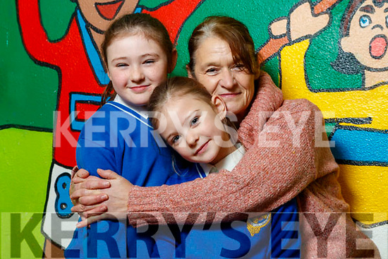 Bella, Lilah and Helen King, Tralee and Ballyduff, enjoying grandparents day at CBS Primary School, Tralee, on Wednesday morning last.