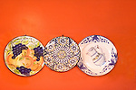 Painted Dishes, Wall Decor, Mason Don Felipe Restaurant, London, England