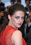 "Cannes, 25.05.2012: KRISTEN STEWART.attends the 'Cosmopolis' premiere during the 65th Annual Cannes Film Festival at Palais des Festivals, Cannes, France..Mandatory Credit Photos: ©Loic Thebaud-Photofile/NEWSPIX INTERNATIONAL..**ALL FEES PAYABLE TO: ""NEWSPIX INTERNATIONAL""**..PHOTO CREDIT MANDATORY!!: NEWSPIX INTERNATIONAL(Failure to credit will incur a surcharge of 100% of reproduction fees)..IMMEDIATE CONFIRMATION OF USAGE REQUIRED:.Newspix International, 31 Chinnery Hill, Bishop's Stortford, ENGLAND CM23 3PS.Tel:+441279 324672  ; Fax: +441279656877.Mobile:  0777568 1153.e-mail: info@newspixinternational.co.uk"