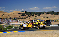 Jun. 21, 2009; Sonoma, CA, USA; NASCAR Sprint Cup Series driver David Ragan during the SaveMart 350 at Infineon Raceway. Mandatory Credit: Mark J. Rebilas-