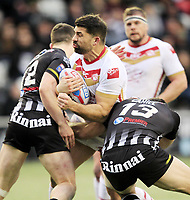 Picture by Chris Mangnall/SWpix.com - 04/02/2018 - Rugby League - Betfred Super League - Widnes Vikings v Catalans Dragons - Select Security Stadium, Widnes, England -<br />