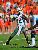 Miami QB Jacory Harris (12).