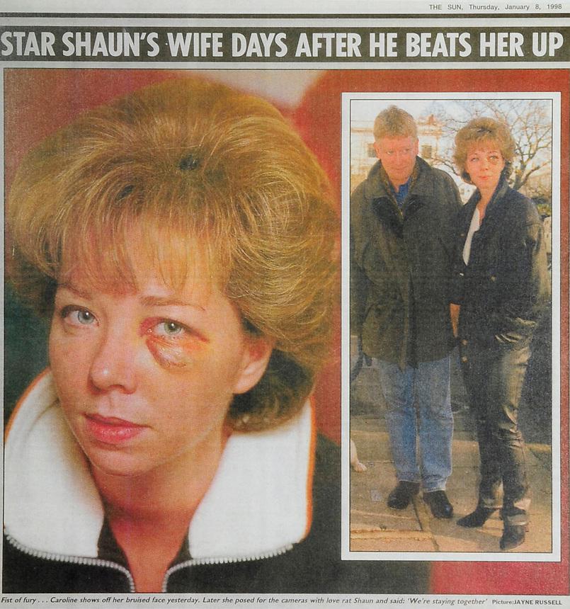 SHAUN SCOTT, THE SUN NEWSPAPER TEAR, SHEET, JANUARY 8TH 1998.PIC JAYNE RUSSELL