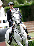 Portugal's jockey Alexandre Sampaio Mascarenhas de Lemos with the horse Chiquitita 4 during 102 International Show Jumping Horse Riding, King's College Trophy. May, 20, 2012. (ALTERPHOTOS/Acero)