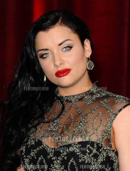 Shona McGarty arriving for the British Soap Awards 2013, at Media City, Manchester. 18/05/2013 Picture by: Steve Vas / Featureflash