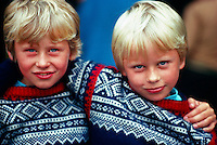 Norwegian boys, Bergen, Norway
