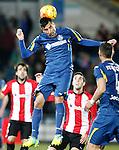 Getafe's Juan Rodriguez during La Liga match. January 30,2016. (ALTERPHOTOS/Acero)