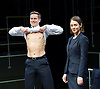 Bull <br /> by Mike Bartlett <br /> at Young Vic, London, Great Britain <br /> Press photocall <br /> 14th December 2015 <br /> <br /> <br /> Max Bennett as Tony <br /> <br /> Susannah Fielding as Isobel<br /> <br /> <br /> <br /> Photograph by Elliott Franks <br /> Image licensed to Elliott Franks Photography Services