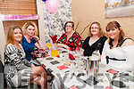 32nd birthday: Mags Fuller, right, Lixnaw celebrating her 32nd birthday with friends Siobhan Keating, Kirsty, Collins, Helen Keane & Norma Ahern at Eabha Joan's Restaurant, Listowel on Saturday night last.