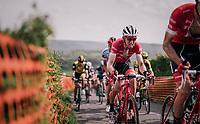 Bauke Mollema  (NED/Trek-Segafredo) up La Redoute<br /> <br /> 104th Li&egrave;ge - Bastogne - Li&egrave;ge 2018 (1.UWT)<br /> 1 Day Race: Li&egrave;ge - Ans (258km)