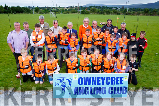 Budding Anglers at the Owencree Angling club learning how to fish day in Boolteens on Sunday