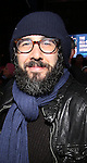 Josh Groban attends The Ghostlight Project to light a light and make a pledge to stand for and protect the values of inclusion, participation, and compassion for everyone - regardless of race, class, religion, country of origin, immigration status, (dis)ability, gender identity, or sexual orientation at The TKTS Stairs on January 19, 2017 in New York City.