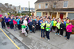 Castleisland Good friday Annual Hospice Walk started at  Gaelscoil Aogáin,