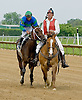 Kendrick Carmouche aboard Harbor Fox at Delaware Park on 5/16/12