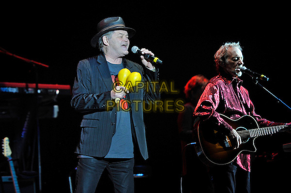 LONDON, ENGLAND - SEPTEMBER 4: Micky Dolenz and Peter Tork of 'The Monkees' performing at Eventin Apollo on September 4, 2015 in London, England.<br /> CAP/MAR<br /> &copy; Martin Harris/Capital Pictures