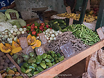 Fresh produce to supplement the food rations but pricey