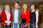 Melanie Harty of Harty's Jellies, John Thornton of Irish Bio Salt, Lee Parker Bond of Pigeon Media and Mary Coleman of Listowel Food Fair at the Listowel Food Fair Business Seminar in the Seanchai Centre on Friday