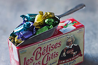 Europe/France/Nord-Pas-de-Calais/59/Nord/Cambrai: Bêtises des Ch'tis, Bêtises de Cambrai de la Confiserie Afchain //  France, Nord, Cambrai, stupidity Sticks, Bêtises Cambrai Confectionery Afchain