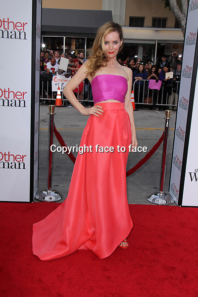 WESTWOOD, CA - April 21: Leslie Mann at the &quot;The Other Woman&quot; Los Angeles Premiere, Village Theater, Westwood, April 21, 2014.<br />