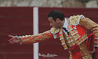 Bullfighter  Enrique Ponce in action