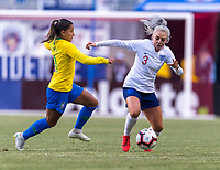 Chester, PA - February 27, 2019:  England defeated Brazil 2-1 during thethe SheBelieves Cup opener at Talen Energy Stadium.